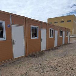 如何预防在折叠住人集装箱中暑